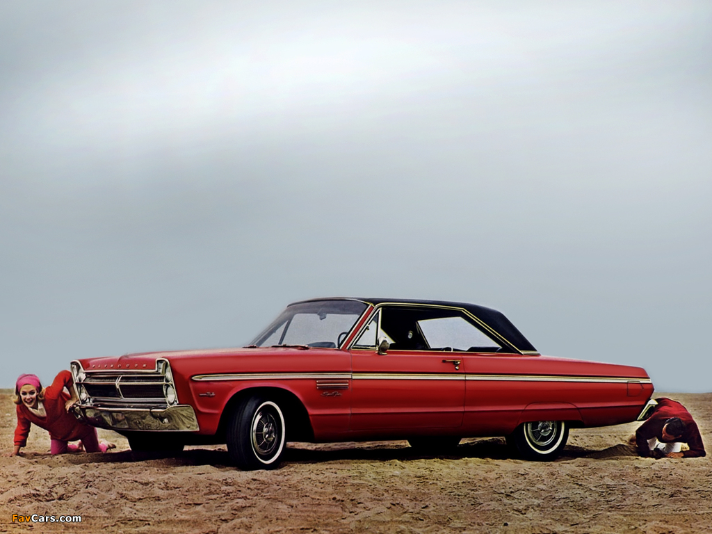 Images of Plymouth Sport Fury Hardtop Coupe (P42) 1965 (1024 x 768)