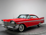 Pictures of Plymouth Sport Fury Hardtop Coupe (23) 1959