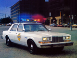 Pictures of Plymouth Gran Fury Pursuit 1982–85