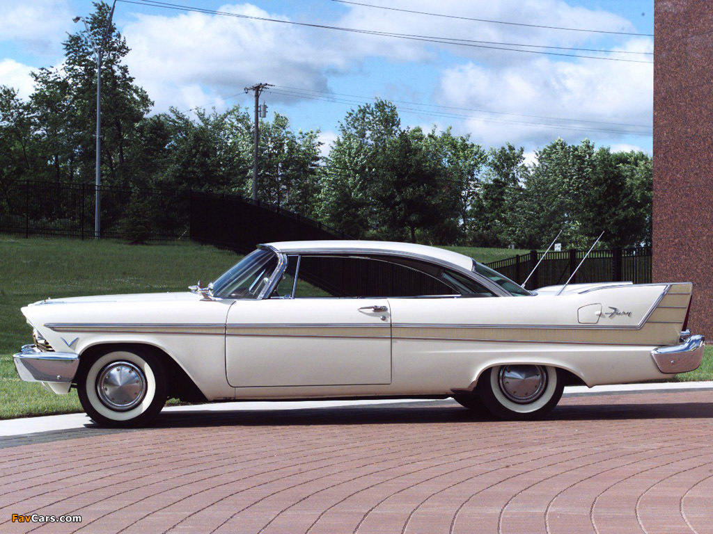 Plymouth Fury Sport Coupe 1957 images (1024 x 768)