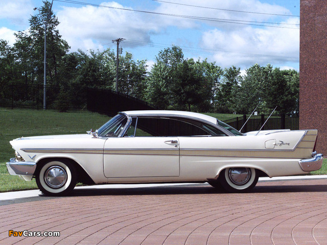 Plymouth Fury Sport Coupe 1957 images (640 x 480)