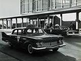Plymouth Fury 4-door Sedan Taxi 1960 photos