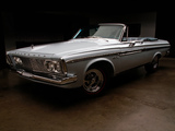 Plymouth Sport Fury Convertible (TP2-P 345) 1963 images