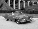 Plymouth Sport Fury Convertible (TP2-P 345) 1963 wallpapers