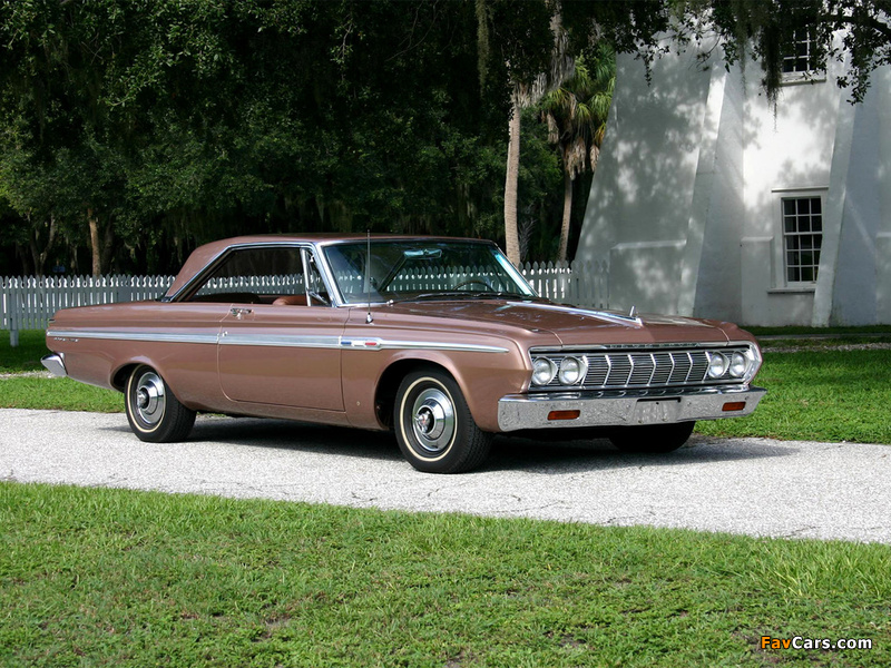 Plymouth Sport Fury Hardtop Coupe (VP2-P 342) 1964 wallpapers (800 x 600)