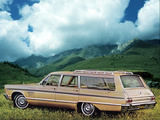 Plymouth Fury III Station Wagon (AP-H R76/77) 1965 wallpapers