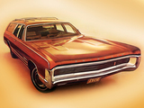 Plymouth Fury Sport Suburban 1970 wallpapers