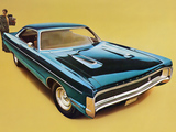 Plymouth Sport Fury GT Hardtop Coupe (PP23) 1970 wallpapers