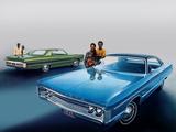 Plymouth Fury III 2-door Hardtop & Fury III 4-door Hardtop 1971 wallpapers