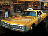 Plymouth Fury I Sedan Taxi 1972 pictures