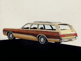 Plymouth Fury Sport Suburban 1972 wallpapers