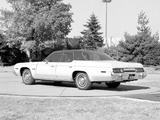 Plymouth Gran Fury Brougham Hardtop Sedan Prototype 1975 pictures