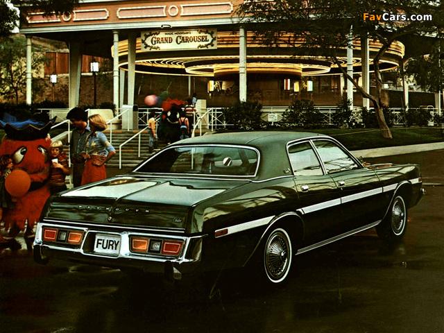 Plymouth Fury Salon (RH41) 1978 wallpapers (640 x 480)