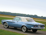 Plymouth Sport Fury Convertible (345) 1962 wallpapers