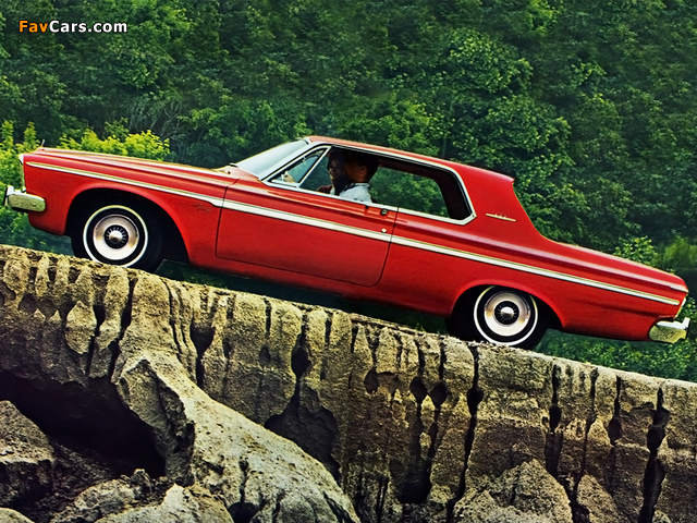 Plymouth Fury 2-door Hardtop 1963 wallpapers (640 x 480)