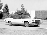 Plymouth Gran Fury Brougham Hardtop Sedan Prototype 1975 wallpapers