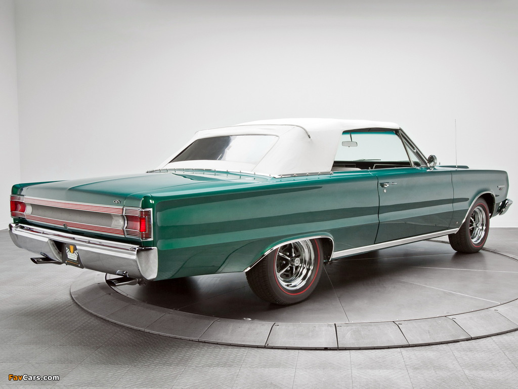 Images of Plymouth Belvedere GTX 440 Convertible (RS27) 1967 (1024 x 768)