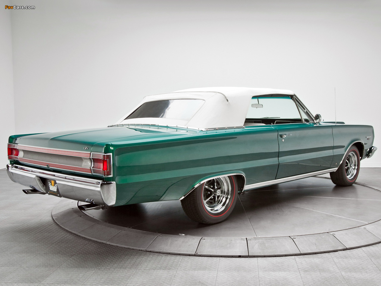 Images of Plymouth Belvedere GTX 440 Convertible (RS27) 1967 (1280 x 960)