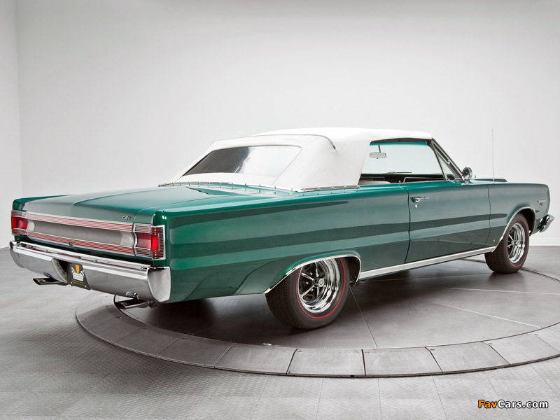 Images of Plymouth Belvedere GTX 440 Convertible (RS27) 1967 (800 x 600)