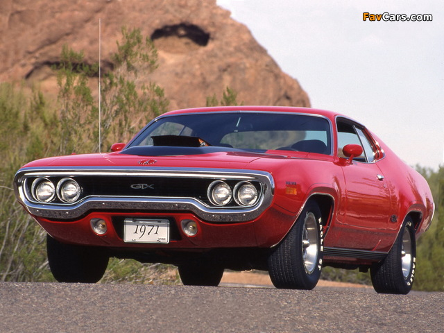 Images of Plymouth GTX 1971 (640 x 480)