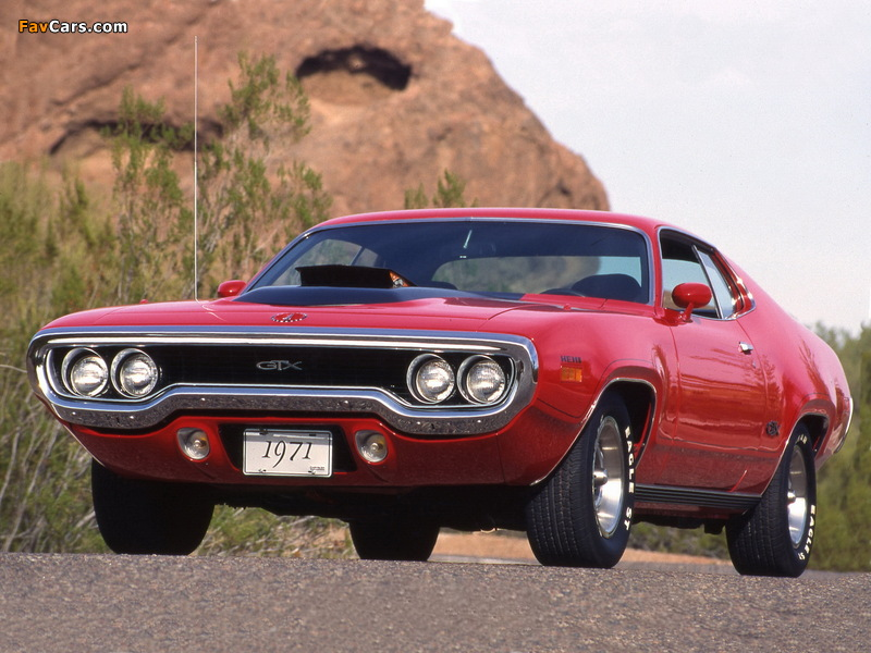 Images of Plymouth GTX 1971 (800 x 600)