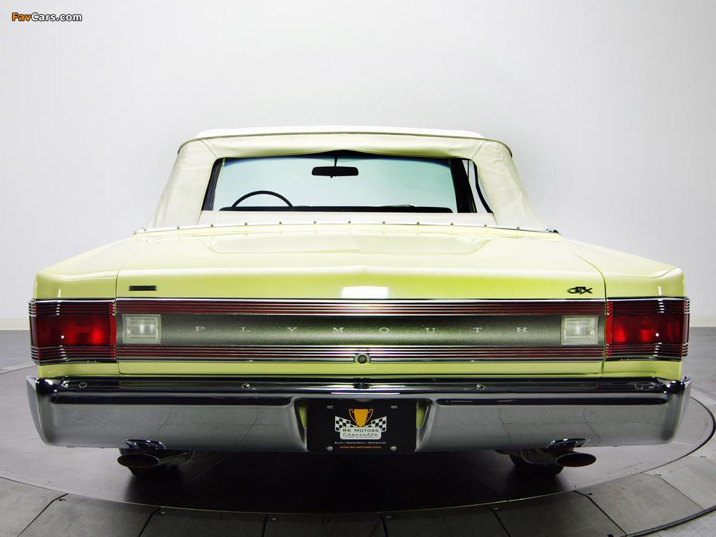 Photos of Plymouth Belvedere GTX 426 Hemi Convertible 1967 (1024 x 768)