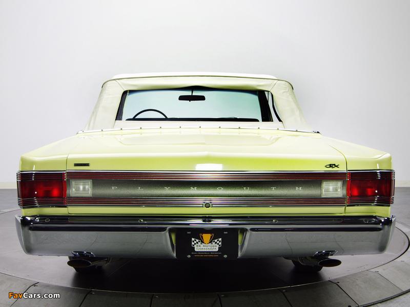 Photos of Plymouth Belvedere GTX 426 Hemi Convertible 1967 (800 x 600)