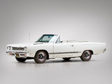 Pictures of Plymouth GTX Convertible (RS27) 1968