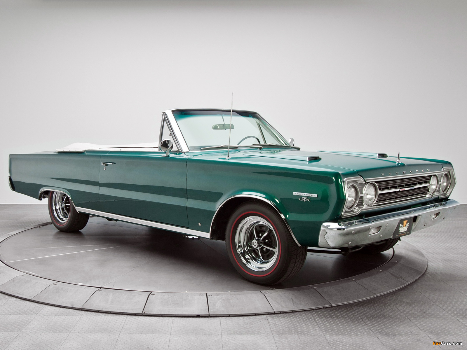 Plymouth Belvedere GTX 440 Convertible (RS27) 1967 images (1600 x 1200)