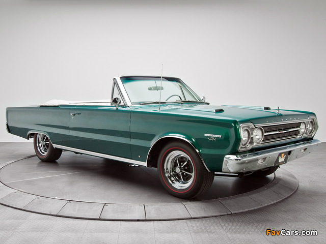 Plymouth Belvedere GTX 440 Convertible (RS27) 1967 images (640 x 480)