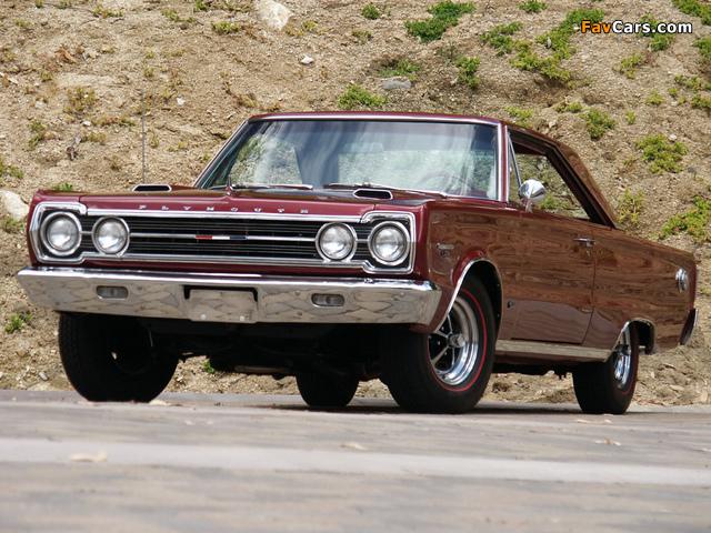 Plymouth Belvedere GTX 426 Hemi 1967 photos (640 x 480)
