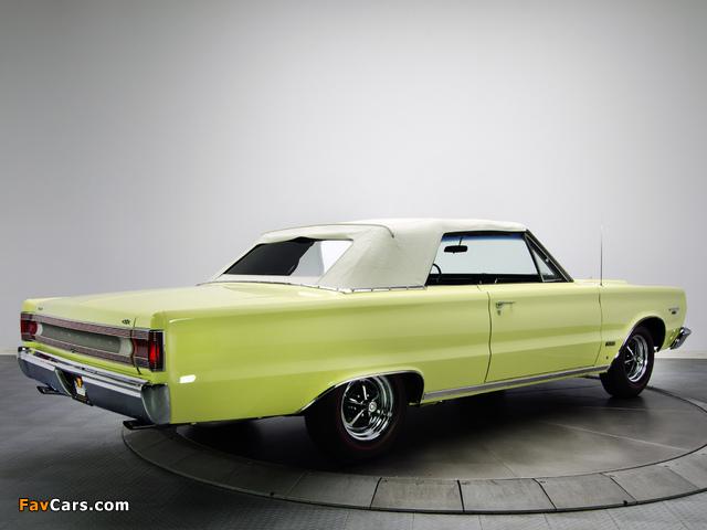 Plymouth Belvedere GTX 426 Hemi Convertible 1967 wallpapers (640 x 480)