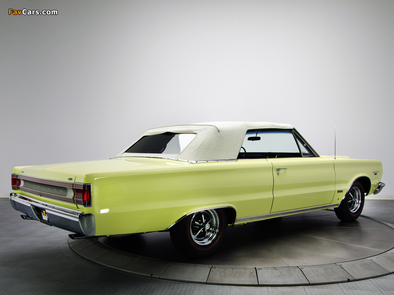Plymouth Belvedere GTX 426 Hemi Convertible 1967 wallpapers (800 x 600)