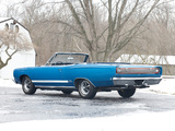 Plymouth GTX 426 Hemi Convertible (RS27) 1968 pictures
