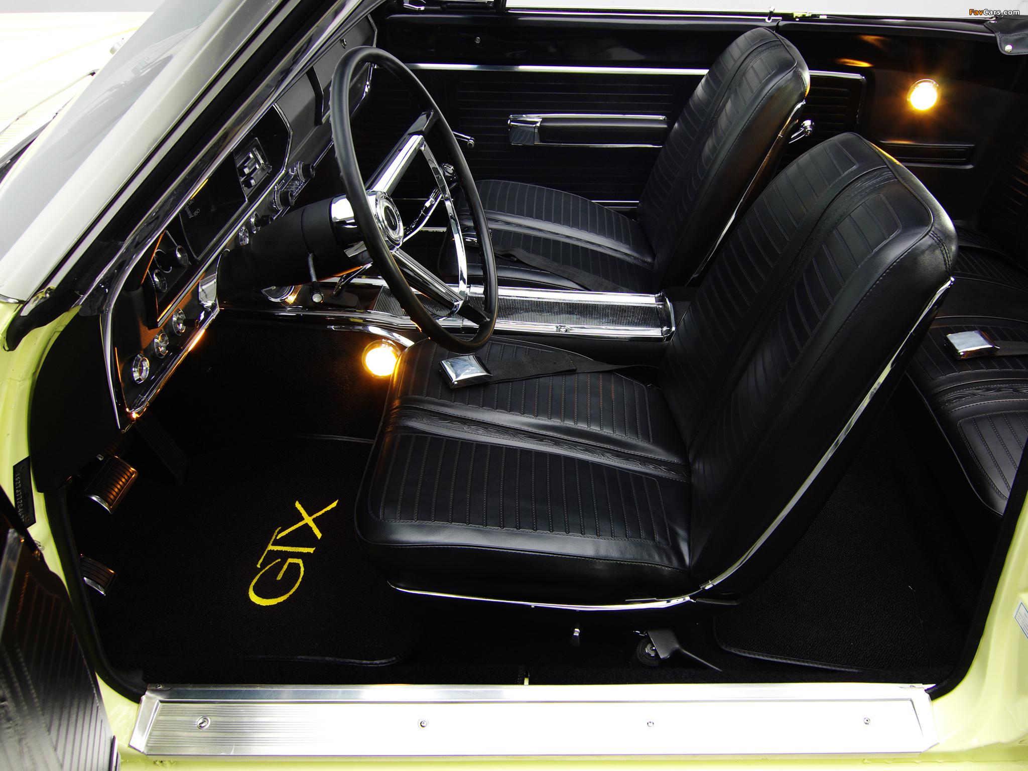 Plymouth Belvedere GTX 426 Hemi Convertible 1967 wallpapers (2048 x 1536)