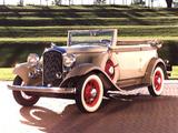 Plymouth PB Convertible Sedan 1932 photos
