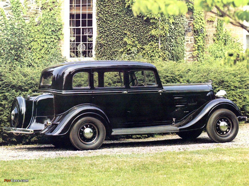 Pictures of Plymouth PE 4-door Sedan 1934 (1024 x 768)