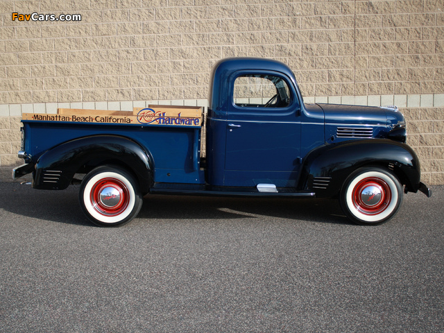 Plymouth PT 105 Pickup 1940 wallpapers (640 x 480)
