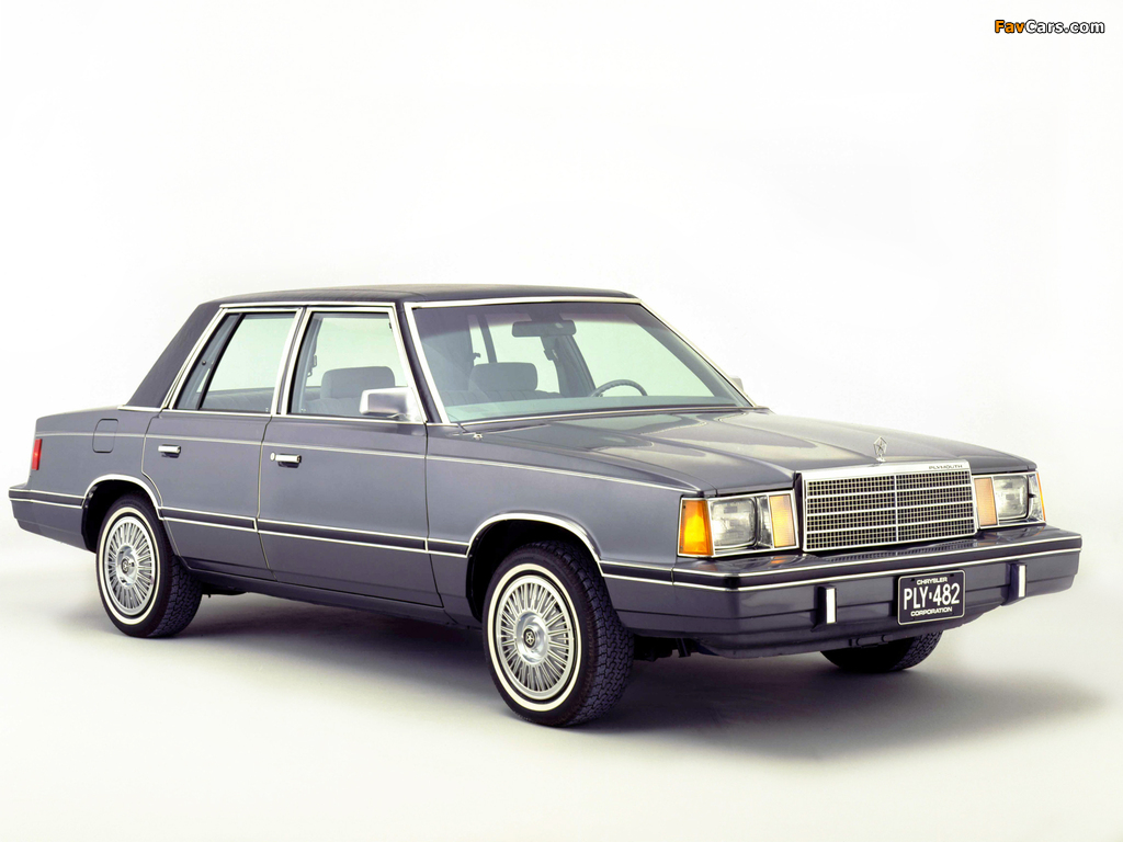 Plymouth Reliant 1981–85 images (1024 x 768)