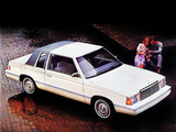 Plymouth Reliant SE 2-door Sedan (PP-21) 1982 wallpapers