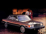 Plymouth Reliant Custom 4-door Sedan (PH-41) 1982 wallpapers