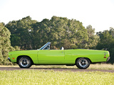 Pictures of Plymouth Road Runner Convertible (RM27) 1970