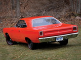 Plymouth Road Runner 440+6 Hardtop Coupe (A12) 1969 wallpapers