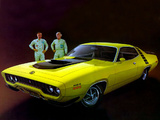 Plymouth Road Runner 440+6 (GR2 RM23) 1971 wallpapers