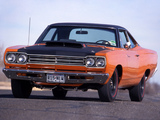 Plymouth Road Runner 440+6 1969 pictures