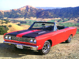 Plymouth Road Runner 383 Convertible (RM27) 1969 wallpapers