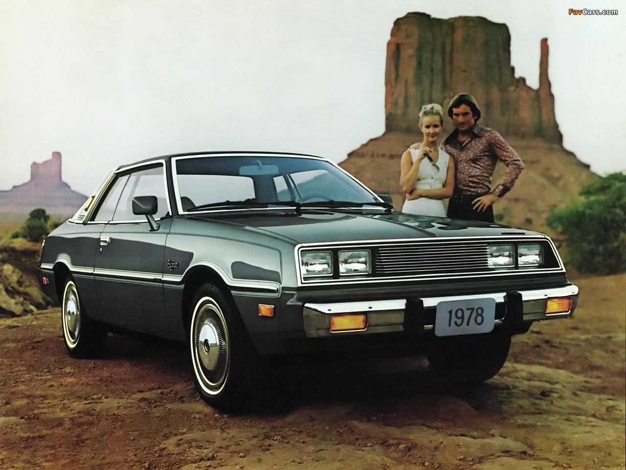 Plymouth Sapporo Coupe (3H29) 1978 photos (1280 x 960)