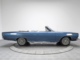 Photos of Plymouth Sport Satellite Convertible (RP27) 1969