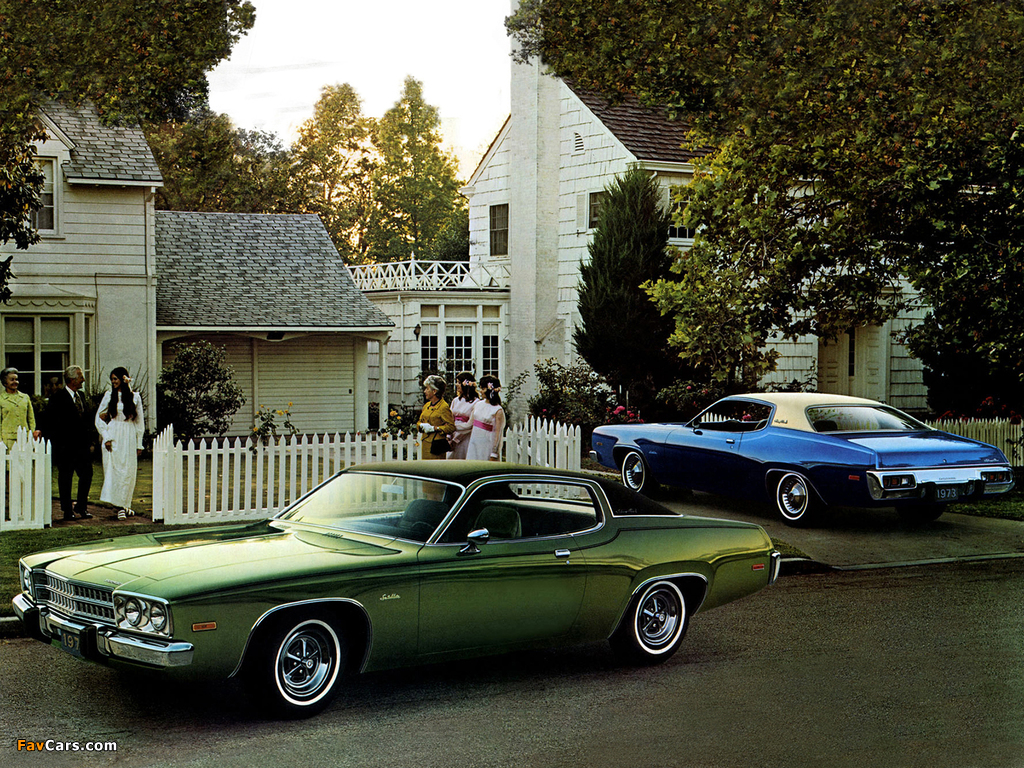 Pictures of Plymouth Satellite-Plus (RP23) 1973 (1024 x 768)