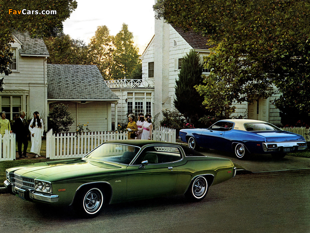 Pictures of Plymouth Satellite-Plus (RP23) 1973 (640 x 480)